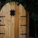 Building a Backyard Speakeasy Gate