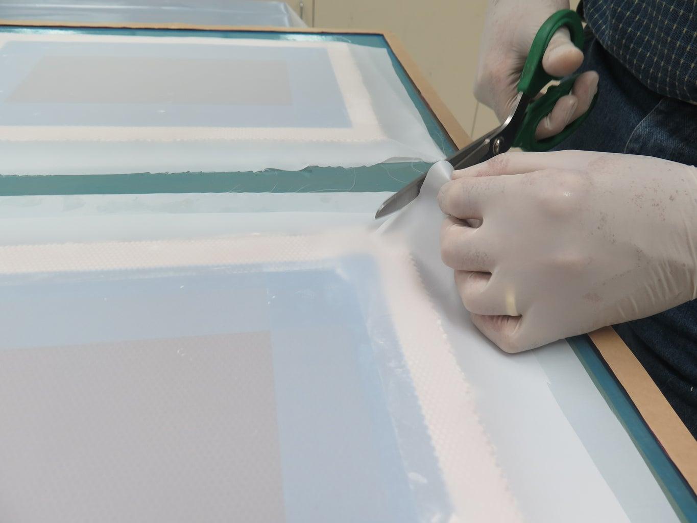 Mold Core Prep - Vacuum Bag 4