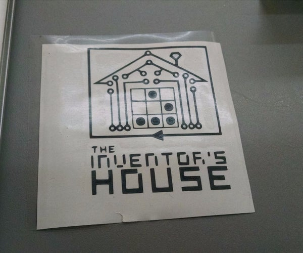 Sticker Hackerspace the Inventor´s House