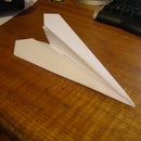 Insanely fast paper plane!!!!!!!!