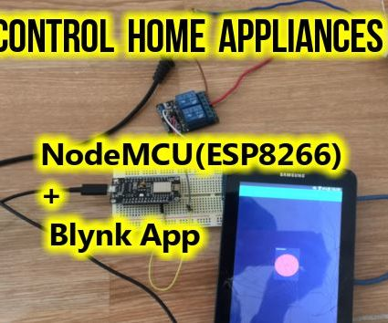 Control Home Appliances Using NodeMCU and Blynk App