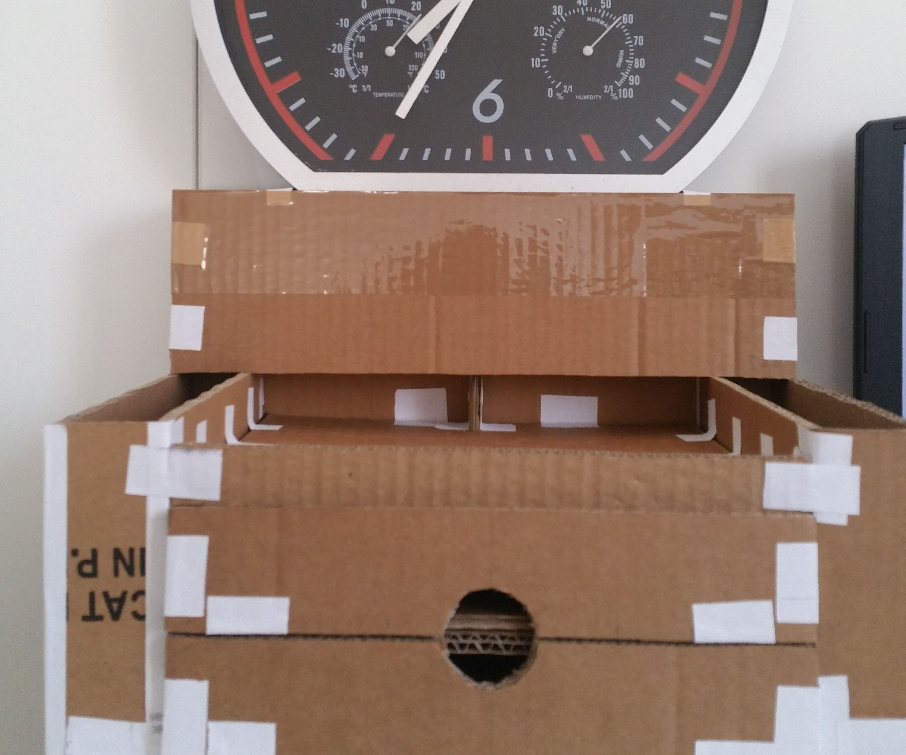Cardboard Home Desk Organizer