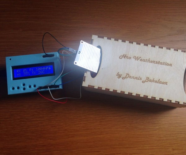 Simple Home Weatherstation
