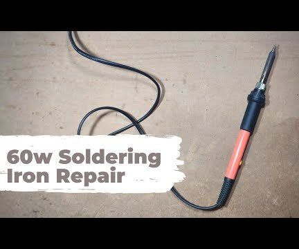 How to Repair Soldering Iron?