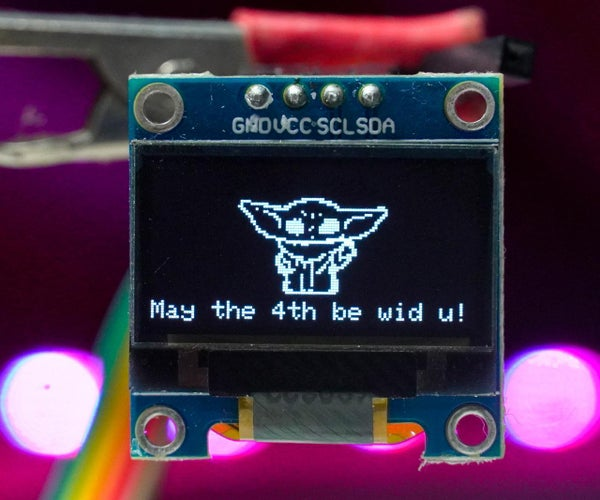 How to Display Images on OLED Using Arduino