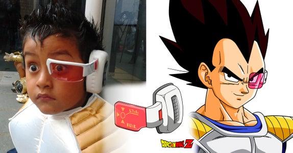 Scouter (Rastreador) Dragon Ball Casero