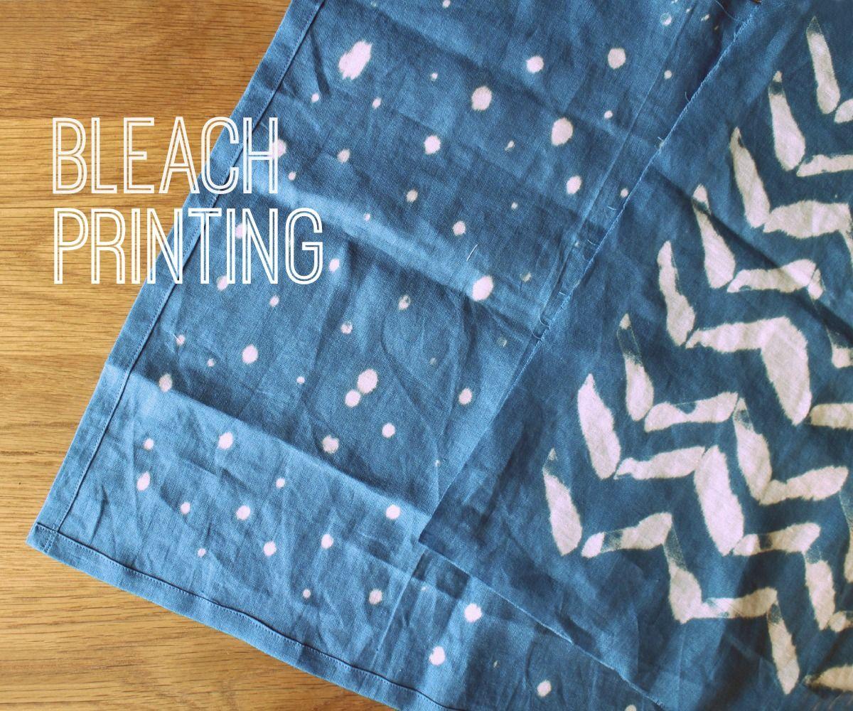 Bleach Printing