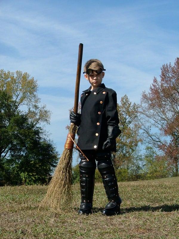 Steampunk Quidditch Player Costume