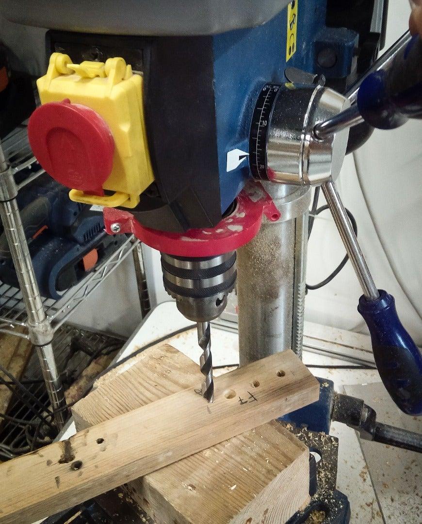 Drilling Pairing Holes