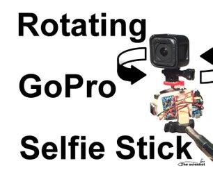 Rotating GoPro Selfie Stick