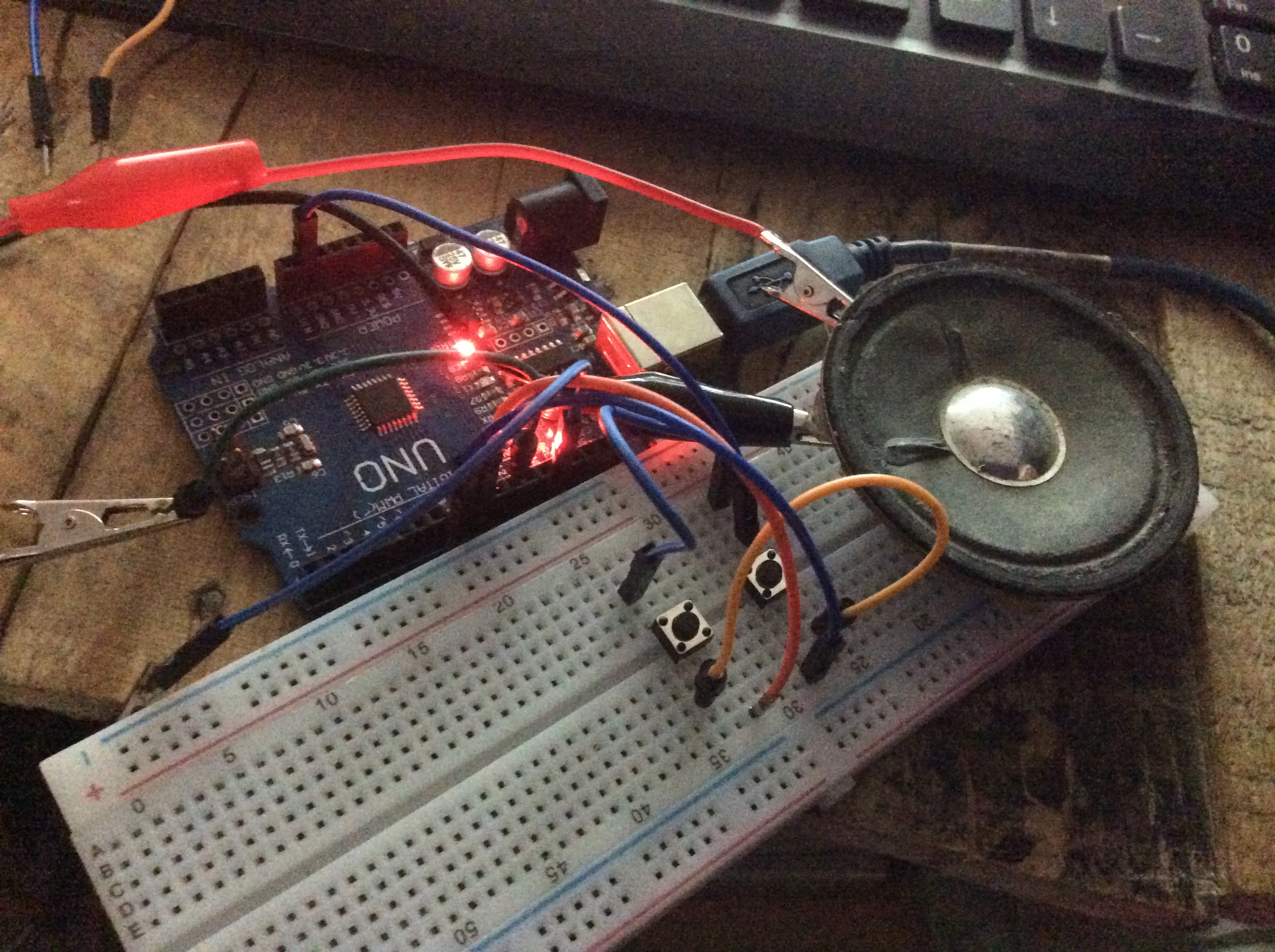 Loud Objects Noise Toy (AKA the Arduino Noise Machine)