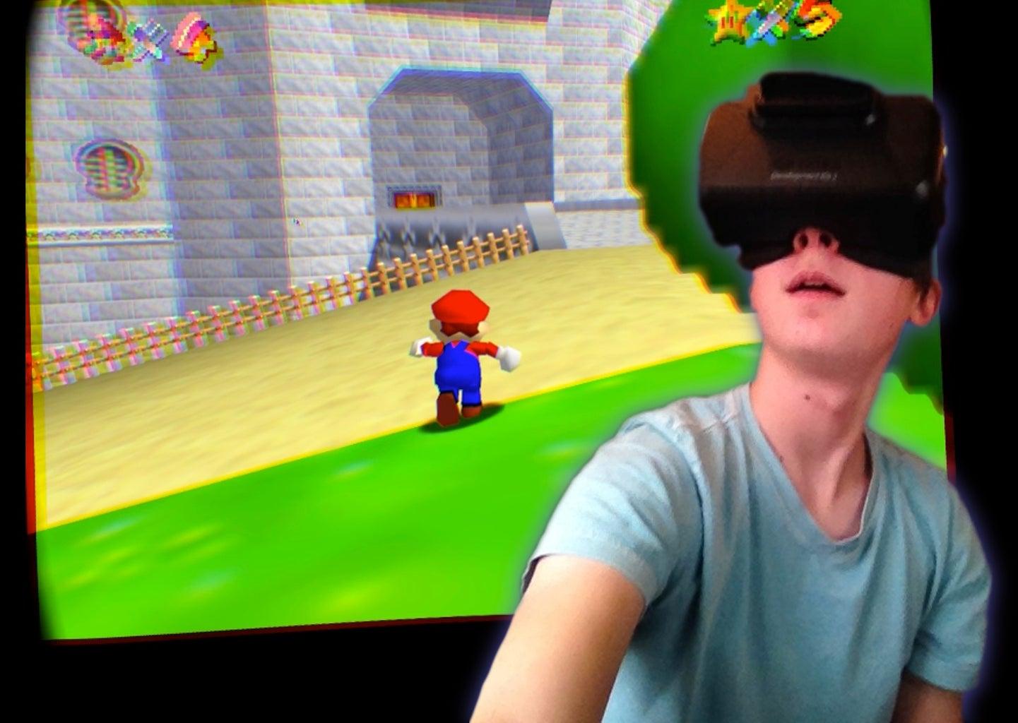 Mac: Play N64 Games on the Oculus Rift