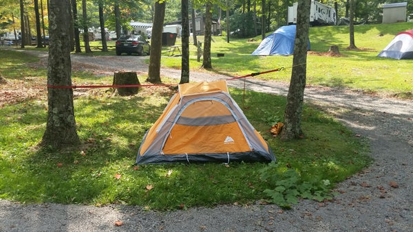 Pitch a Tent Without Poles