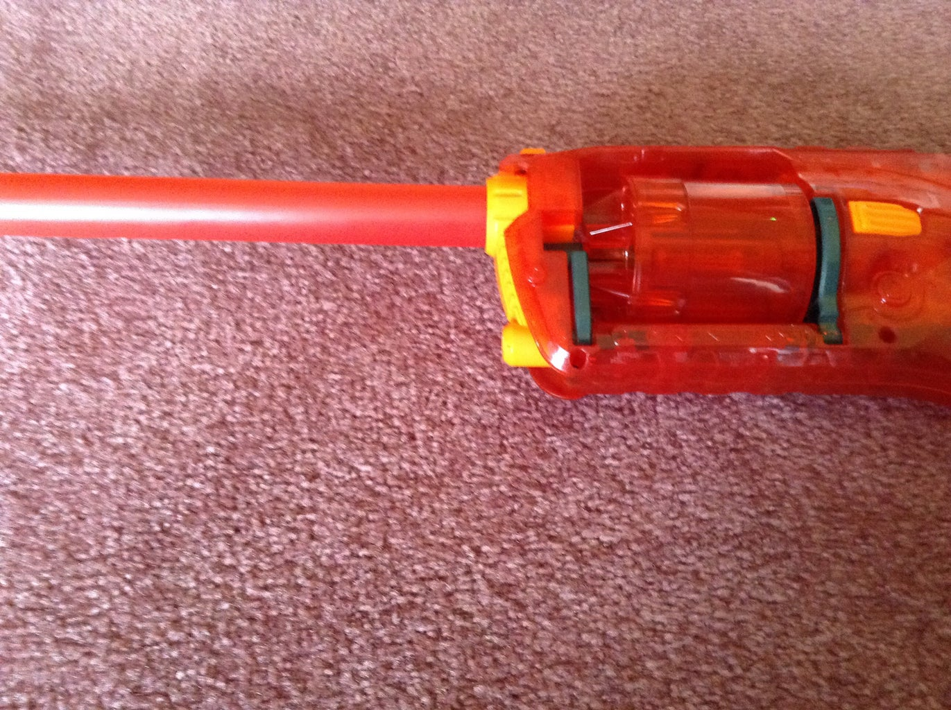 Twist the Red Tube Into the Strongarm's Muzzle Carefully Until You Think It Is Ok to Stop