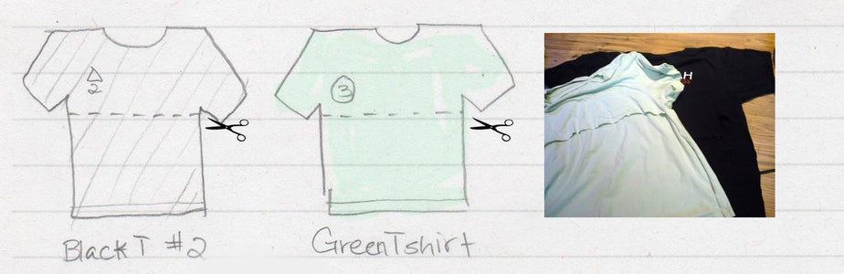 Make a Hogwarts Robe From Old T-shirts - T-shirt Prep