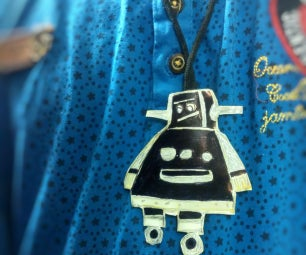 Awesome Instructable Robot Necklace
