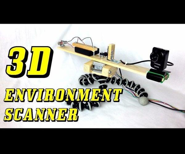 3D Environment Laser Scanner From Scratch