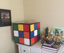 Giant Rubik's Cube Drawer Box