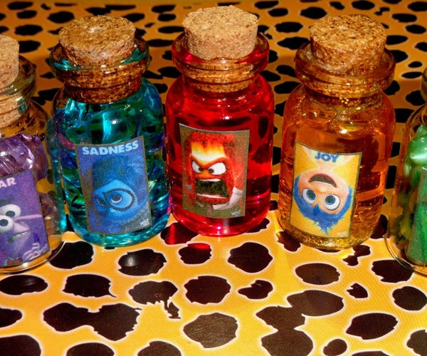 Disney Pixar's Inside Out Bottle Charms