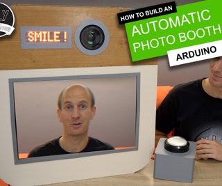 Arduino Wedding Photo Booth - 3D Printed Parts, Automated and  Low Budget