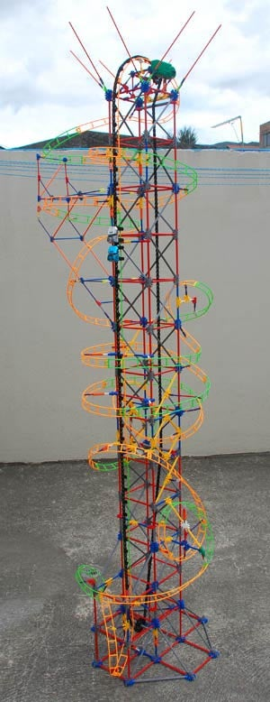 """How to Build Project """"ignition"""" Knex Roller Coaster"""