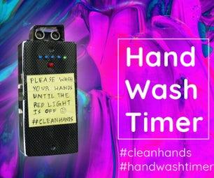 战斗冠状病毒:简单的洗手定时器