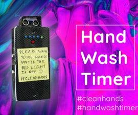 Fight Coronavirus: Simple Handwash Timer