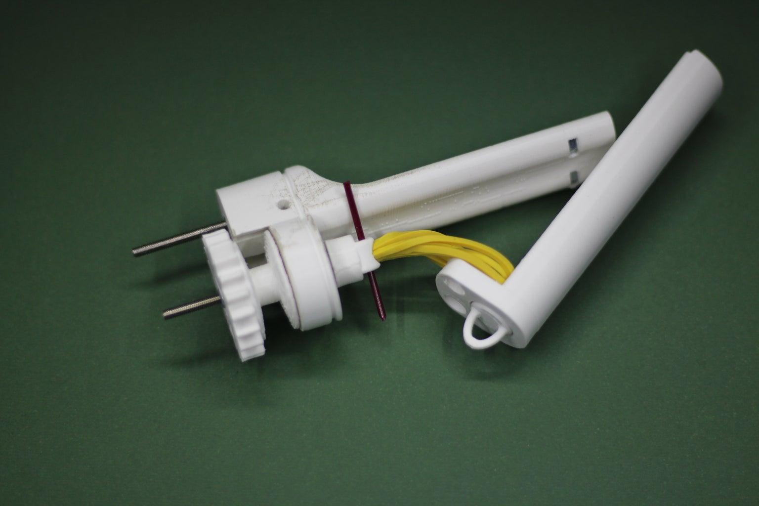 Assembling the Spool Rewinding Mechanism