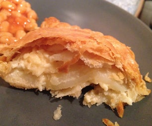 Cornish Style Cheese & Onion Pasty