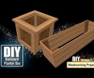 DIY - Backyard Planter Box