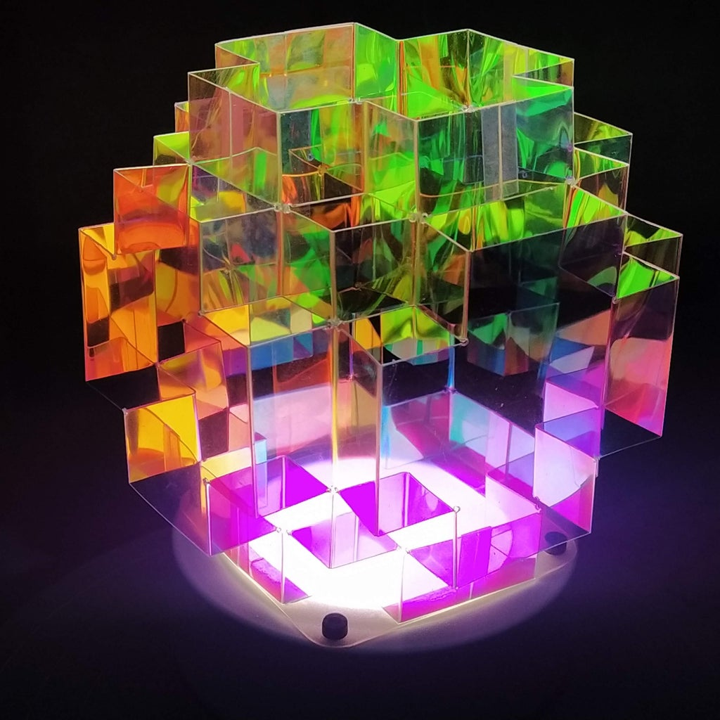 Dichroic Lamp... LEDs But No RGBs