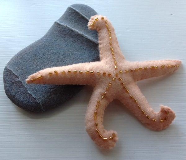 Felt Starfish Stuffie