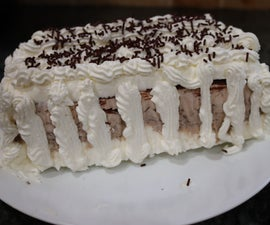 Homemade Eggless Viennetta Ice Cream