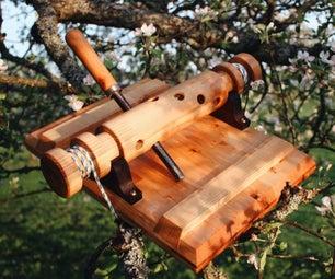 DIY木质植物压榨机