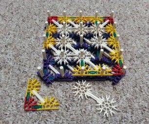 'Squared' Knex Puzzle