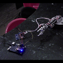 Control robotic arm with gloves, Android Phone and Intel Galileo (Updated)
