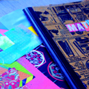 DIY Notebook Cover Decor