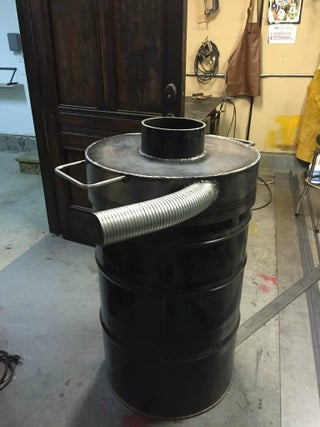 Barrel Incinerator 20 Steps With Pictures Instructables