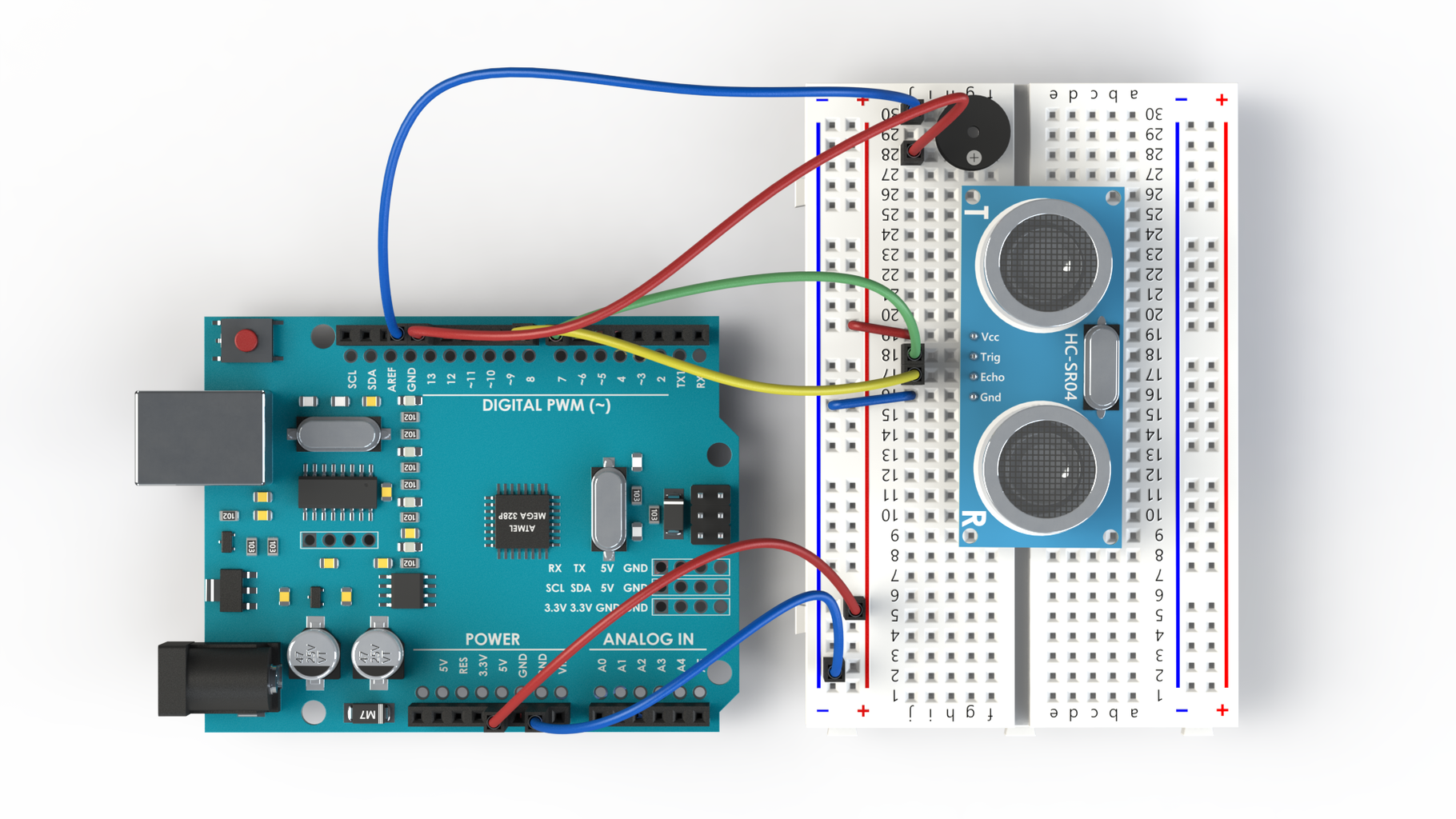 Wiring With a Buzzer