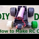 How to Make a RC CAR Faster-   Homemade Powerfull RC Car at Home
