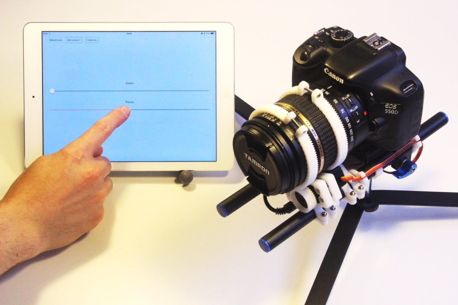 Wireless Control of Your DSLR