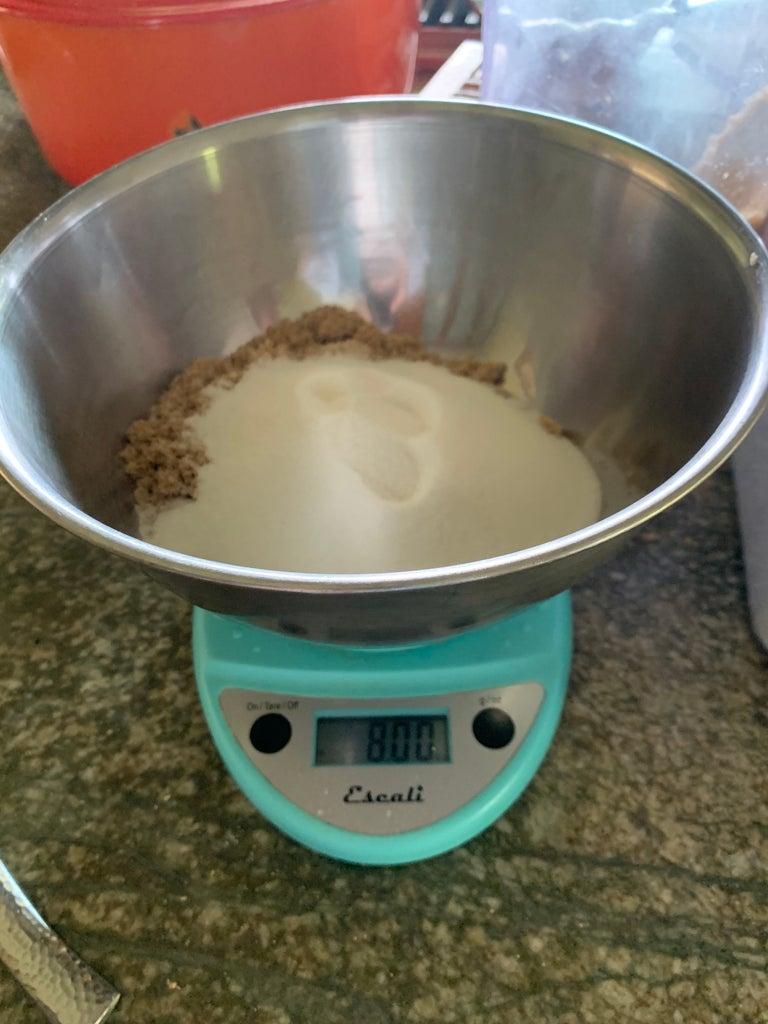 Weigh the Sugars