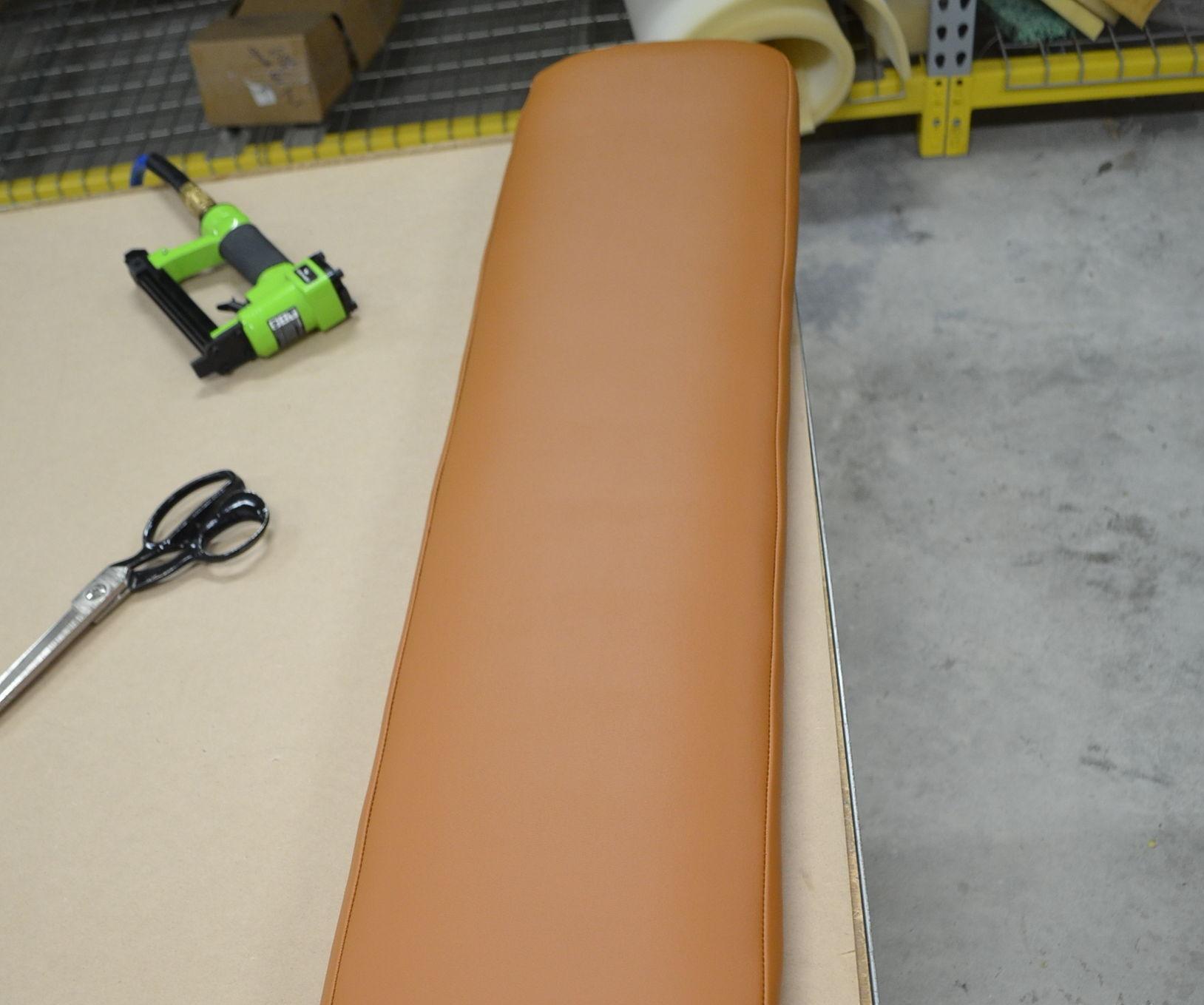 Reupholster Fitness Machine Cushion