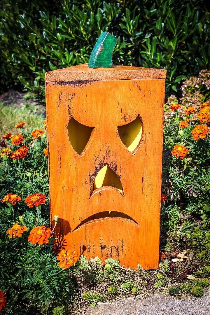 Rustic Pumpkin Lantern