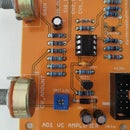 Discrete Voltage Controlled Amplifier
