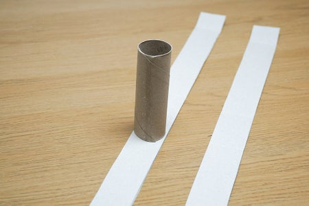 Cutting & Reinforcing the Cardboard Tubes