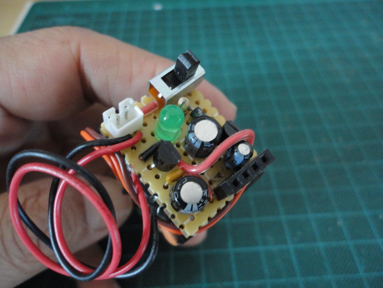 5V and 3.3V Regulator PCB