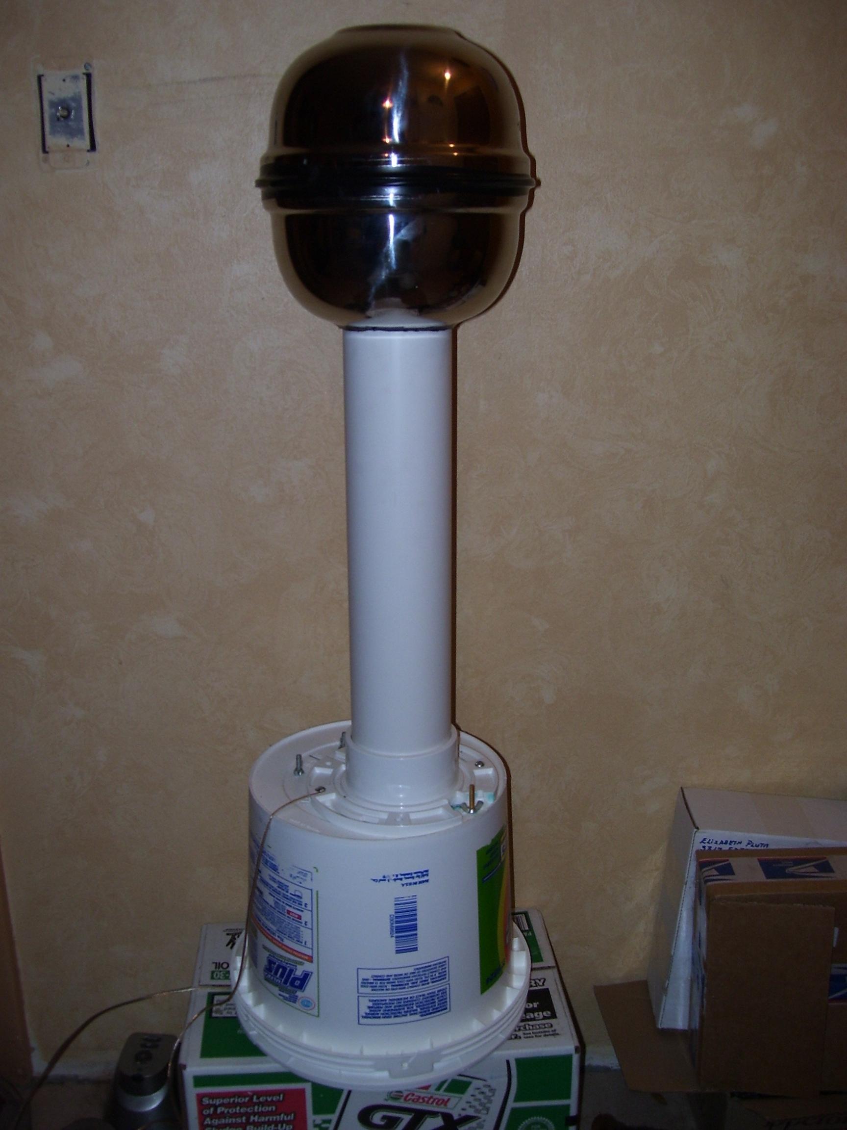 120,000 Volt Van De Graaff Generator