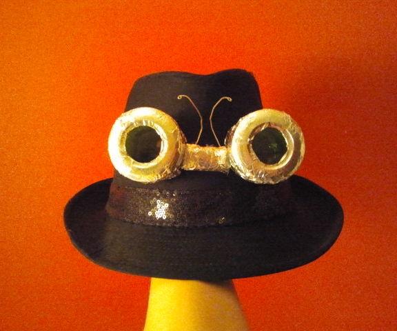 Lunettes steampunk récupération