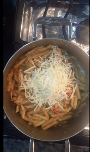 Now Add 1 Cup of Mozzarella Cheese